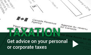 Taxation | Get advice on your personal or corporate taxes